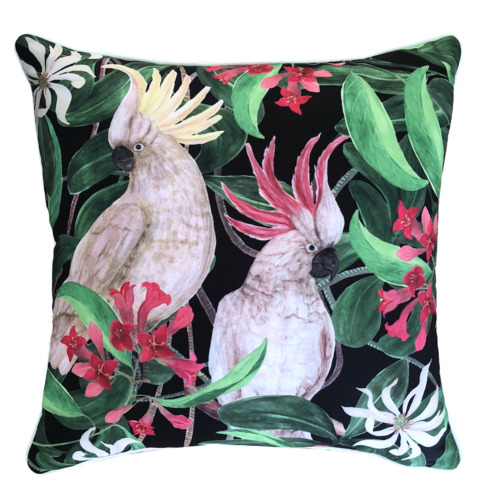 Glamour Paradise Cockatoo Eden Outdoor Cushion