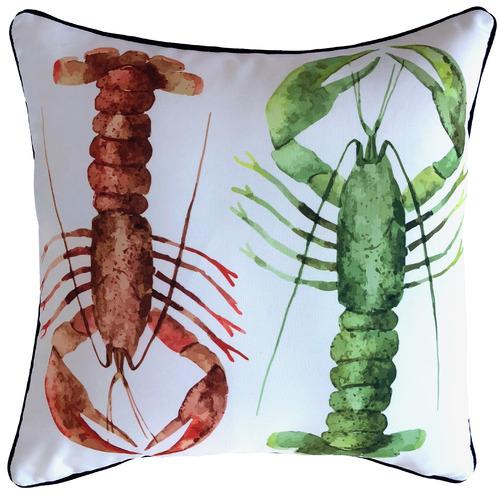 Marine Lobster Outdoor Cushion