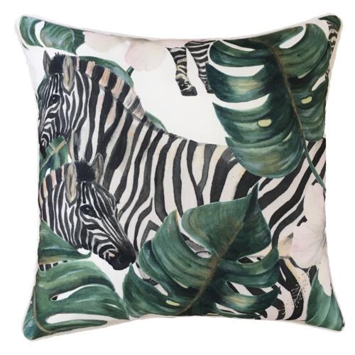 Savanna Zebra Outdoor Cushion