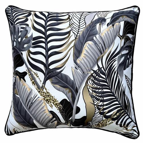 White Wilde Reversible Outdoor Cushion