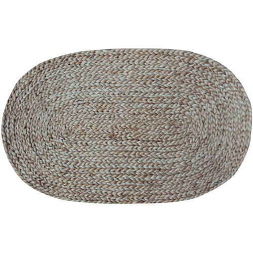 Jute Braided Oval Rug