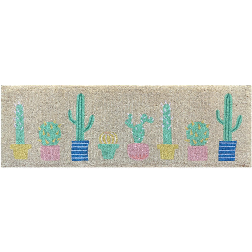 Doormat Designs Long Cactus Doormat
