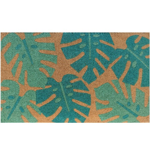 Doormat Designs Green Monstera Doormat