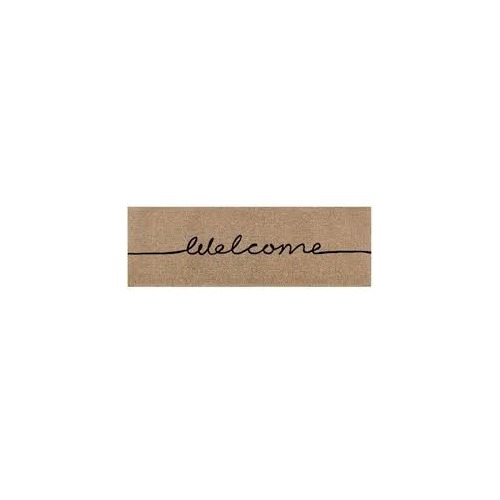 Doormat Designs Long Welcome French Doormat