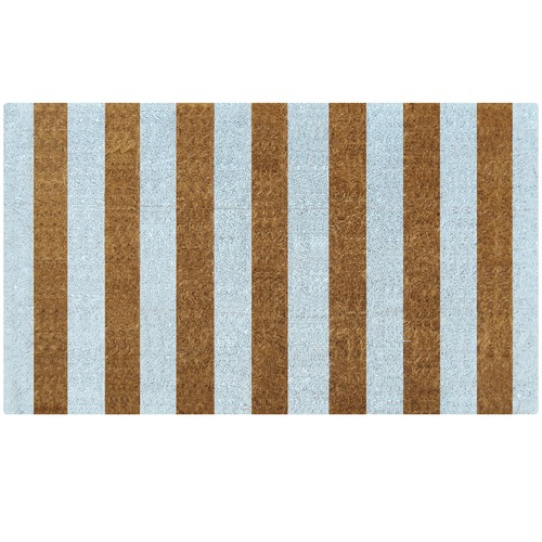 Doormat Designs Ice Stripes Coir Doormat