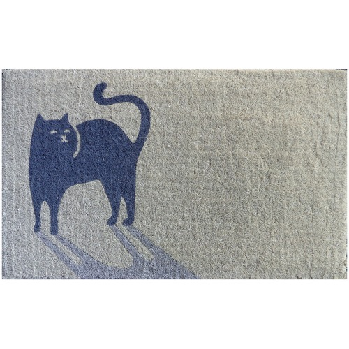 Doormat Designs Cool Cat Coir Doormat
