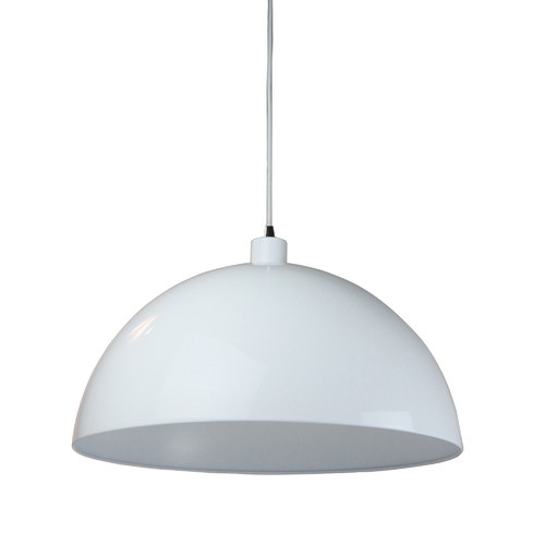 Helios Dome Pendant Light In White Temple Amp Webster