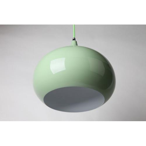 She Lights Kirke 1 Light Pendant in Light Green