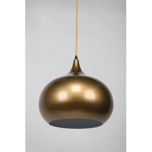 She Lights Kirke 1 Light Pendant in Pearl Gold