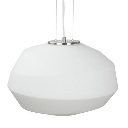 She Lights White Bramston 1 Light Steel Pendant