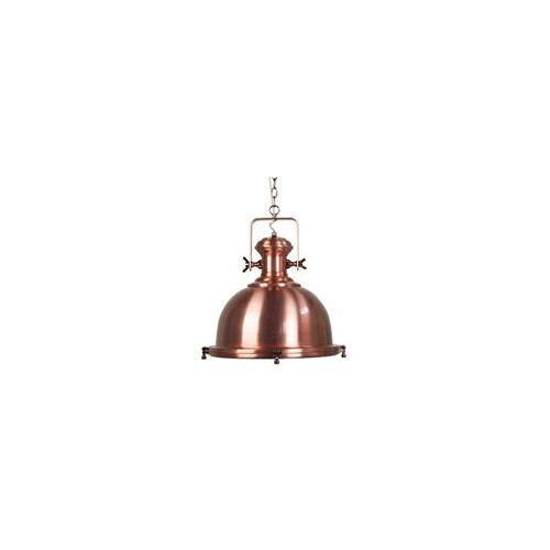She Lights Whitehaven 1 Light Steel Pendant