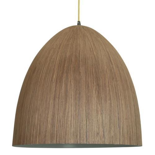 Cacia Wooden Veneer Pendant Light