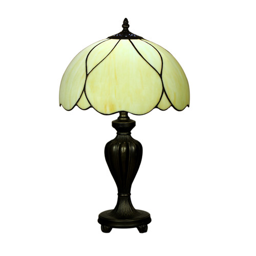 Forest Tiffany Tiffany Elegant Country Table Lamp in Zinc Alloy