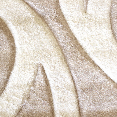 imperial carving 6249 contemporary rug in beige | temple & webster