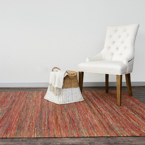 Dotts Rugs Red Jaipur Flat Weave Rug