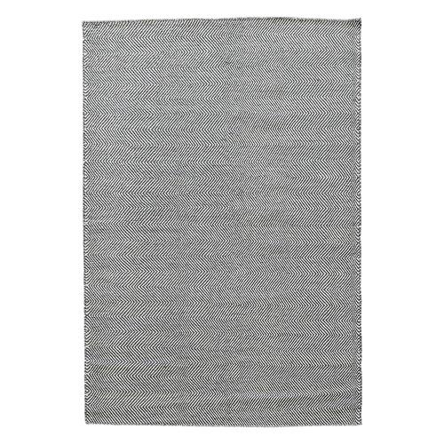 Dotts Rugs Grey Marrakesh Kilim Wool Rug