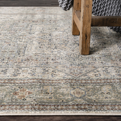 Dotts Rugs Beige Cavalli Power-Loomed Rug