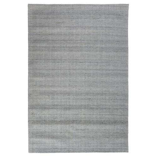 Dotts Rugs Silver Jacquard Oslo Flat-Weave Rug