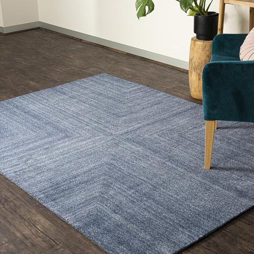Dotts Rugs Blue Savana Wool-Blend Rug