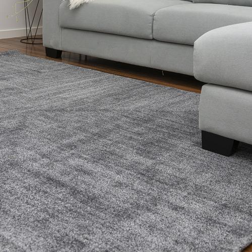 Dotts Rugs Grey Savana Wool-Blend Rug
