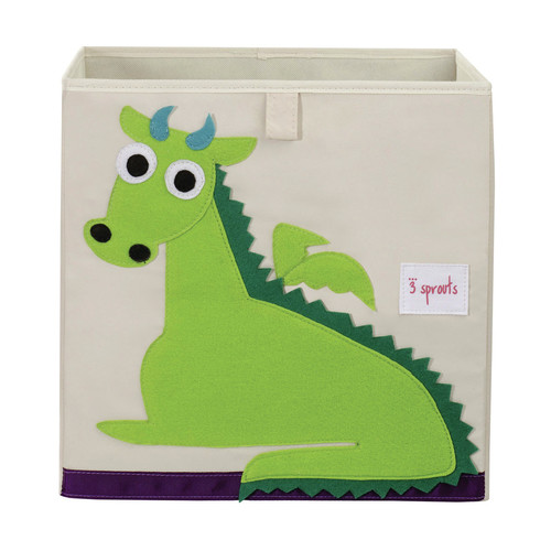Coolkidz 3 Sprouts Dragon Storage Box