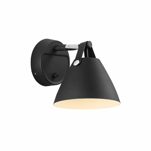 Nordlux Leather Strap Wall Light