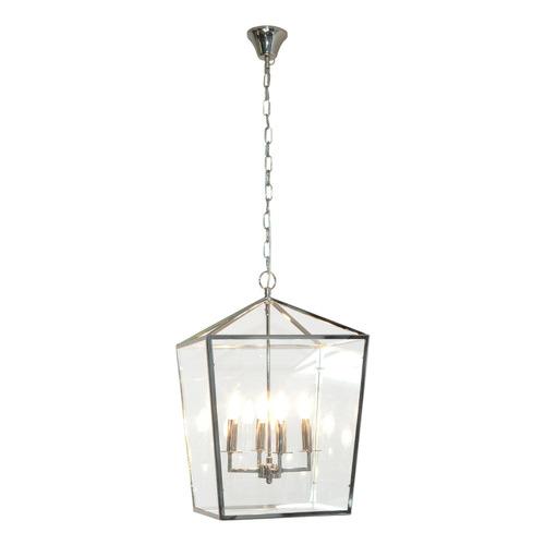 Global Gatherings Arci Iron & Glass 4 Light Pendant