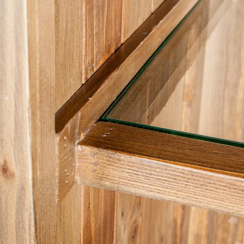 Natural Pine Kitchen Cabinets: Natural Sorrento Acacia & Pine Wood Cabinet