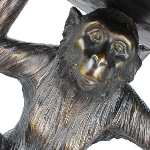 Global Gatherings Sitting Monkey with Bowl on Head Figurine