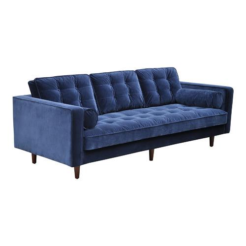Velvet Evie 3 Seater Sofa