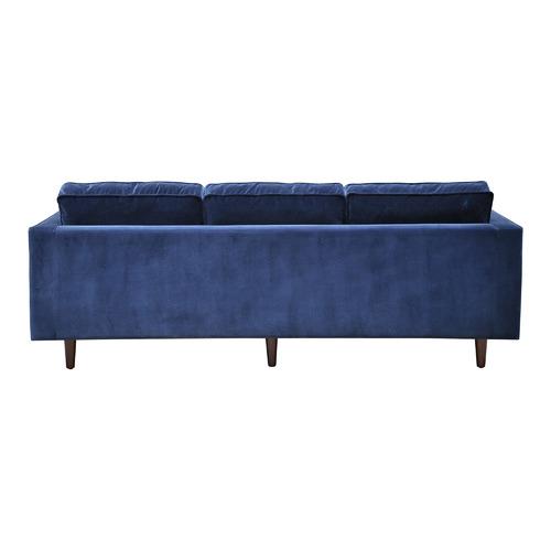 Global Gatherings Velvet Evie 3 Seater Sofa