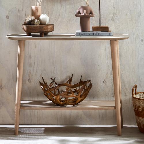 Global Gatherings Natural Horn Decorative Bowl