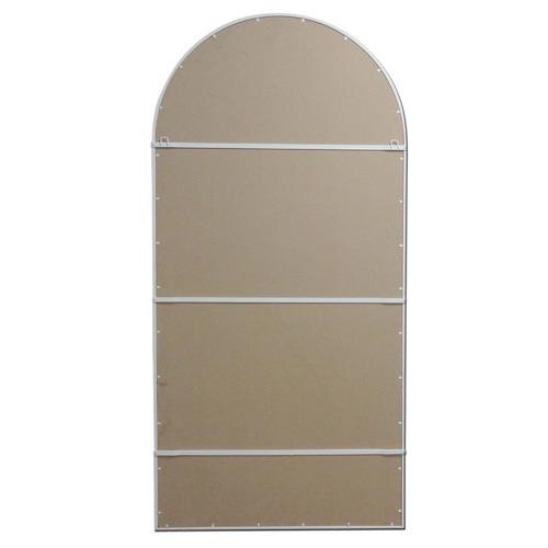 Cream Jonie Multi Pane Arch Mirror