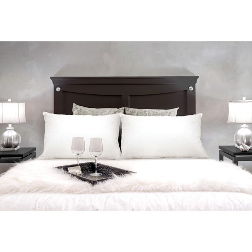 Royal Comfort Twin Pack Duck Feather And Down Pillows