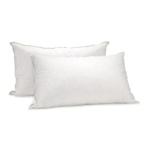 Royal Comfort 1000GSM Goose Pillow Twin Pack