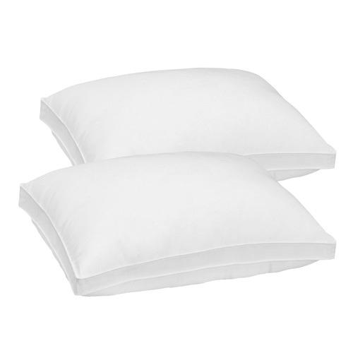 Royal Comfort Luxury Gusset Bamboo-Blend Medium-Firm Pillows
