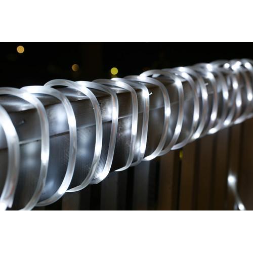 White led solar rope lights temple webster milano homeware white led solar rope lights mozeypictures Images
