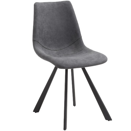 Linea Furniture Faux Leather Orleans Dining Chair