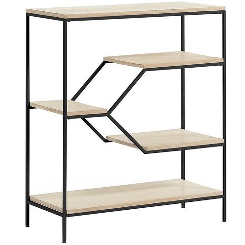 Linea Furniture Debra Mango Wood Bookshelf