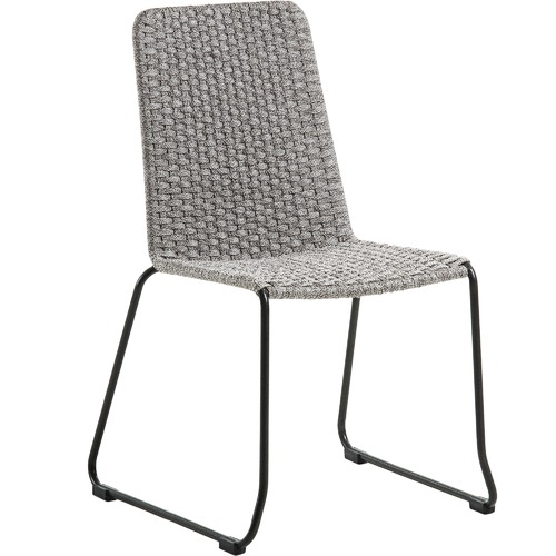 Linea Furniture Alyssia Rope Outdoor Dining Chair
