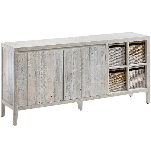 White Wash Portia Pine Sideboard