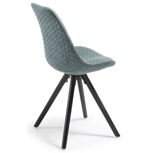 Linea Furniture Quilted Fabric Flow Dining Chair