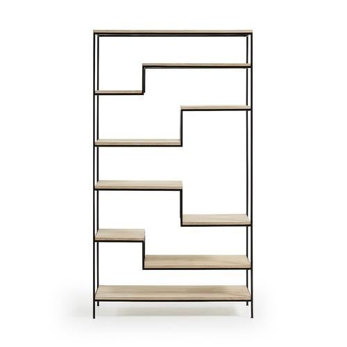 Linea Furniture Kaylen Mango Wood Bookshelf