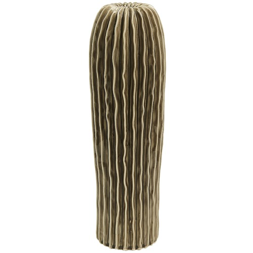 Linea Furniture Brown Olivier Ceramic Vase