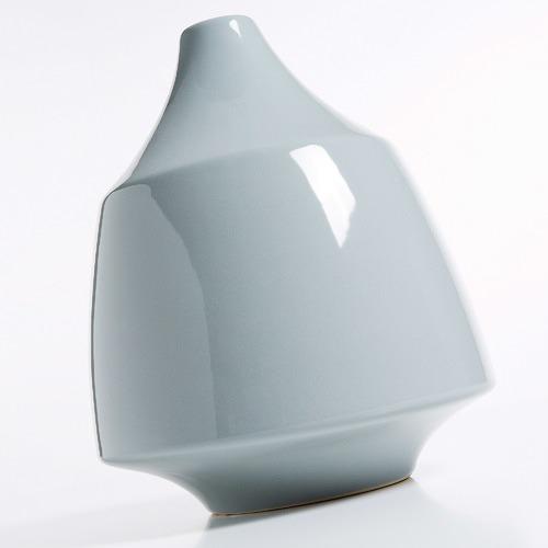 Linea Furniture Grey Valera Ceramic Vase