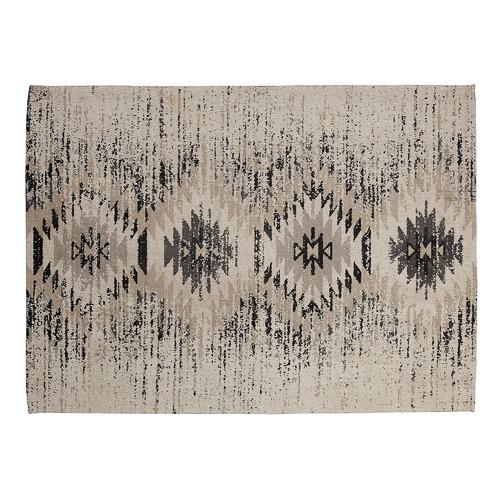 Linea Furniture Vintage-Style Talar Cotton Rug