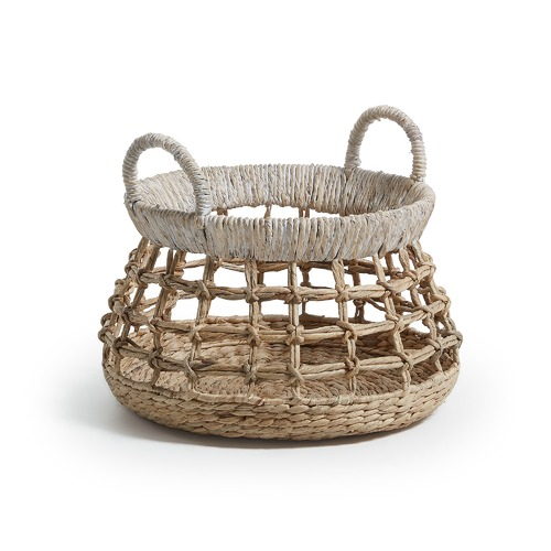 Linea Furniture Charleigh Water Hyacinth Basket