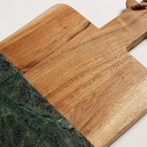 Linea Furniture Green Marble Chopping Board