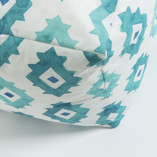 Linea Furniture Geometric Selena Outdoor Pouffe