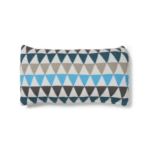 Linea Furniture Geometric Deborah Cotton Cushion